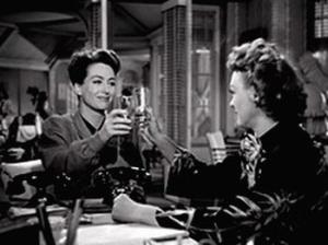 Mildred and Ida enjoy a daytime drink of bourbon Warner Bros (1945)