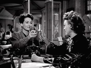 Mildred and Ida enjoy a daytime drink of bourbon Warner Bros (1945)